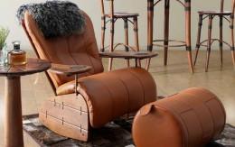 Кресло-качалка из дерева и подобных материалов: удобный предмет интерьера для дома и дачи