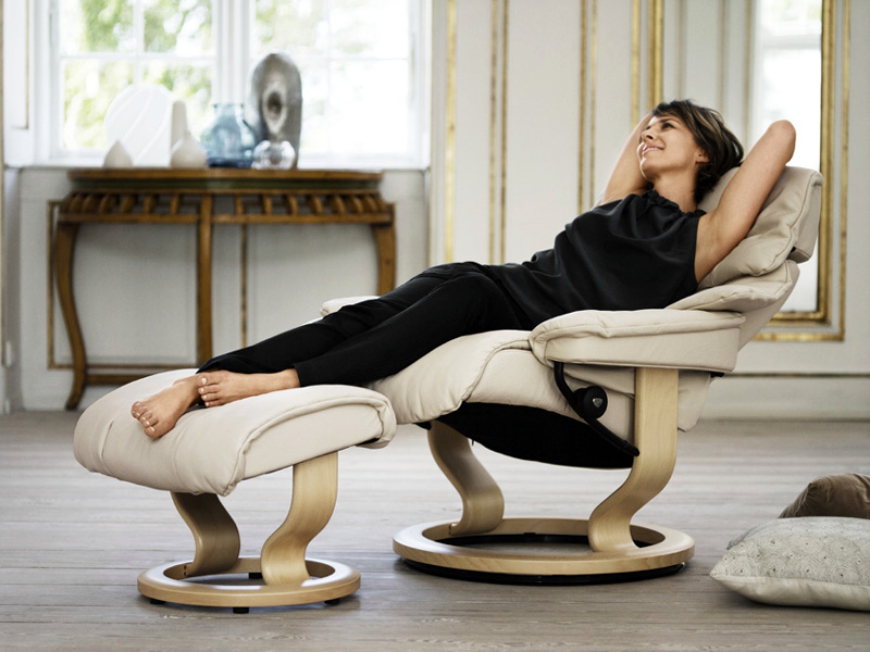 Кресло-реклайнер - идеально для позвоночника в любом положении