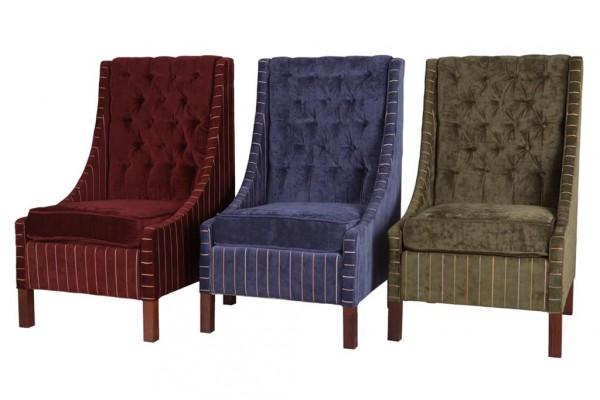Кресло с высокой спинкой Capitonne