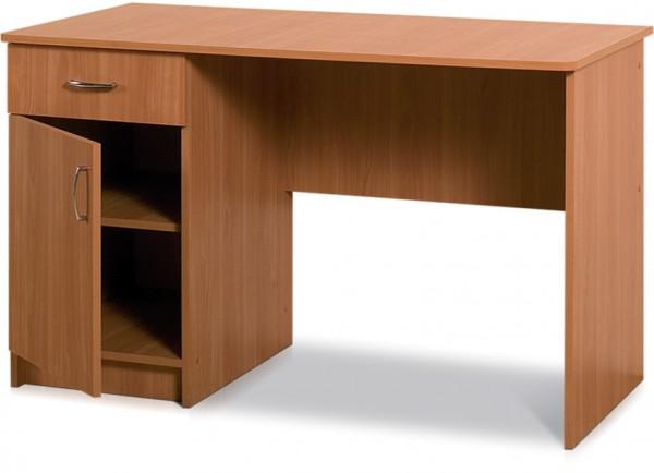 Письменный стол классический с одной тумбой