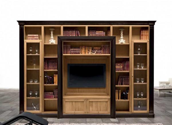 Шкаф книжный NAVIGLI