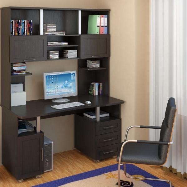 Компьютерные столы с надстройкой своими руками