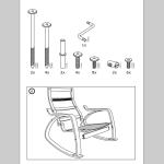 Сборка кресла Поэнг - 1