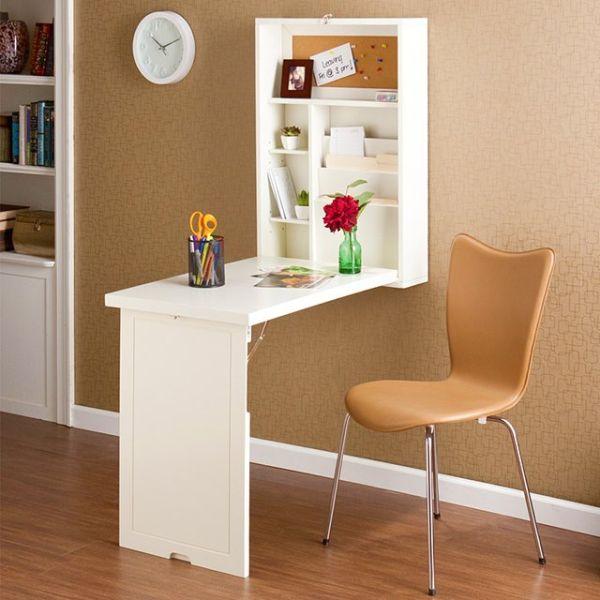 Стильный письменный стол для маленькой комнаты