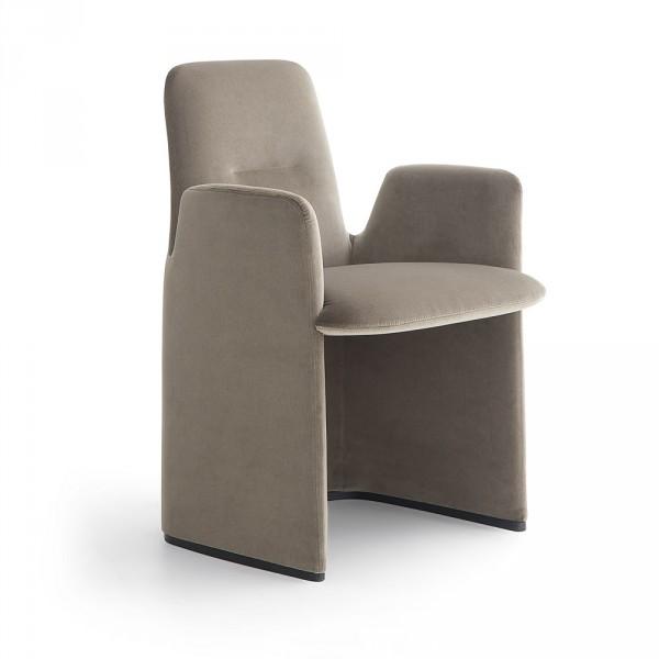 Узкое мягкое кресло