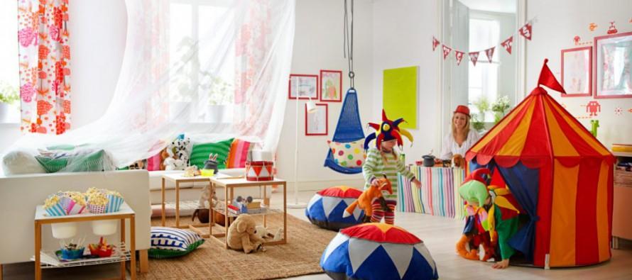 икеа подвесные кресла в детской