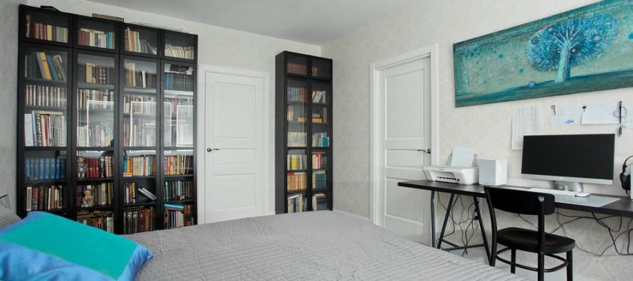 книжные шкафы и библиотеки для дома икеа