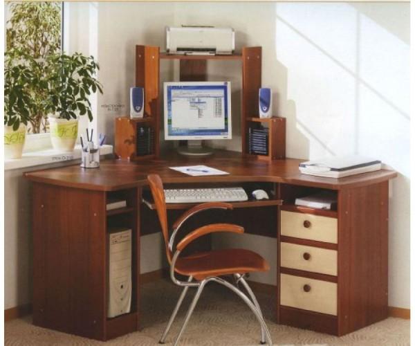 компьютерный стол угловой своими руками фото