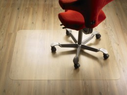 Защитный коврик для компьютерного кресла — гарантия сохранности любимых ковров и паркета