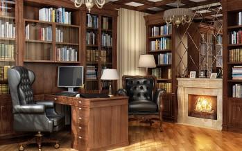 кожаное компьютерное кресло для дома