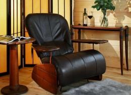 Кожаное кресло-качалка, мягкое, с подножкой, маятниковое, металлическое, пластиковое: новые веяния