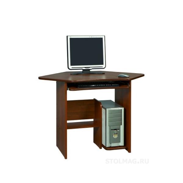 маленький угловой компьютерный стол фото с размерами КС-11