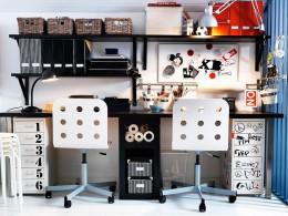 Письменные столы от Икеа: функциональность и разнообразие