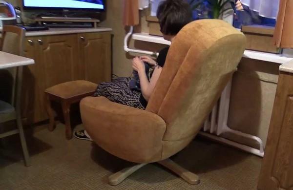 ремонт компьютерного кресла своими руками