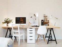 Компьютерный стол с малой глубиной или просто узкий – выход из затруднительного положения