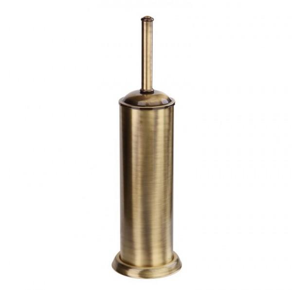 Ершик для унитаза напольный металлический BRONZE Fuente Real