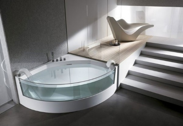 Фото гидромассажной ванны для двоих