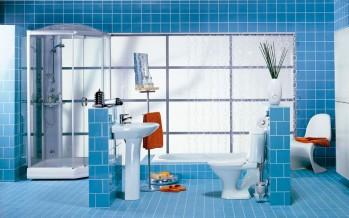 Фото металлической полочки для ванной комнаты