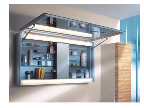 Фото навесного шкафа с зеркалом Аквелла для ванной комнаты