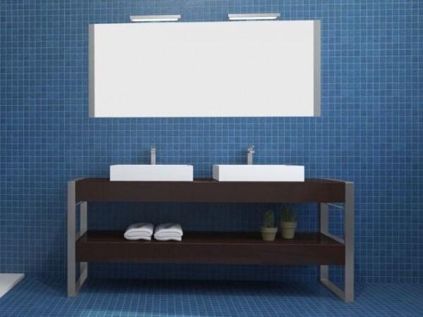 Напольная тумба для ванной комнаты — Square