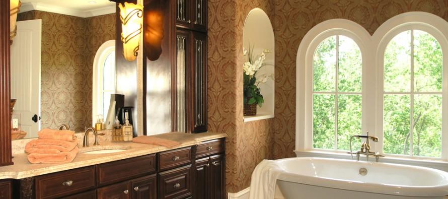 Напольный шкаф и пенал в ванную комнату узкий, угловой, с корзиной, фото изделия