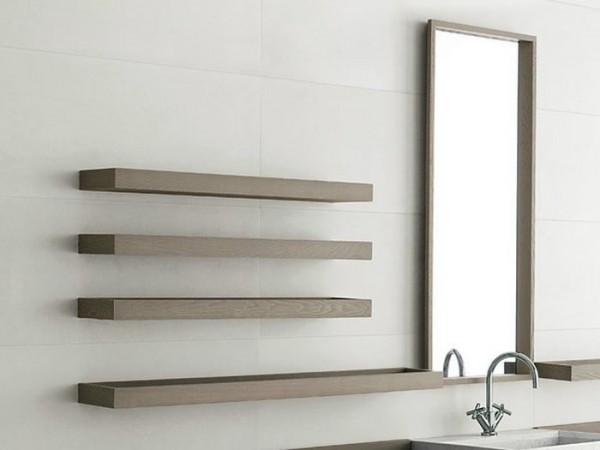 Полочка из дерева для ванной комнаты своими руками