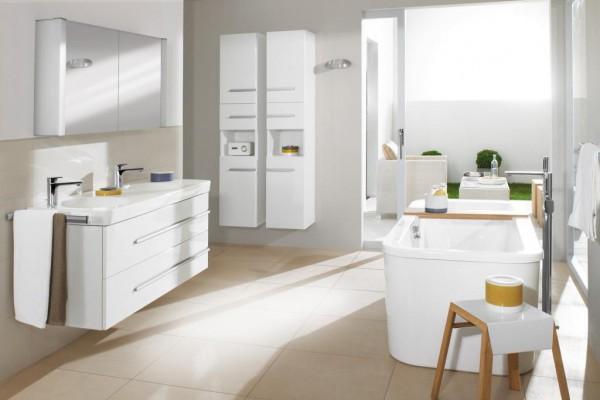 Шкафы и пеналы в ванной