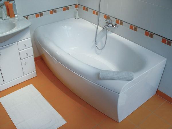 акриловая ванна белая