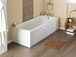 Акриловая ванна: легкая элегантность и огромное разнообразие форм