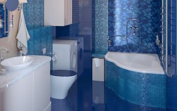 Ванная комната и точечные светильники