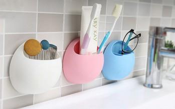 держатель для зубной щетки на присоске детский и взрослый