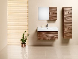Навесной шкаф – обязательный атрибут для современной ванной комнаты