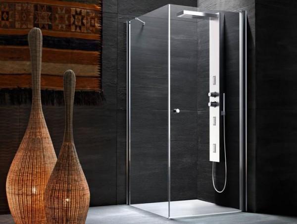 душ прозрачный с кабиной