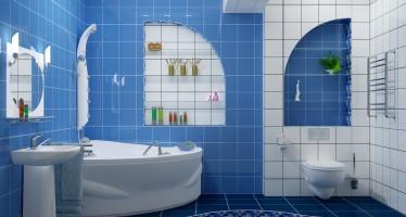 как сделать полку в ванной