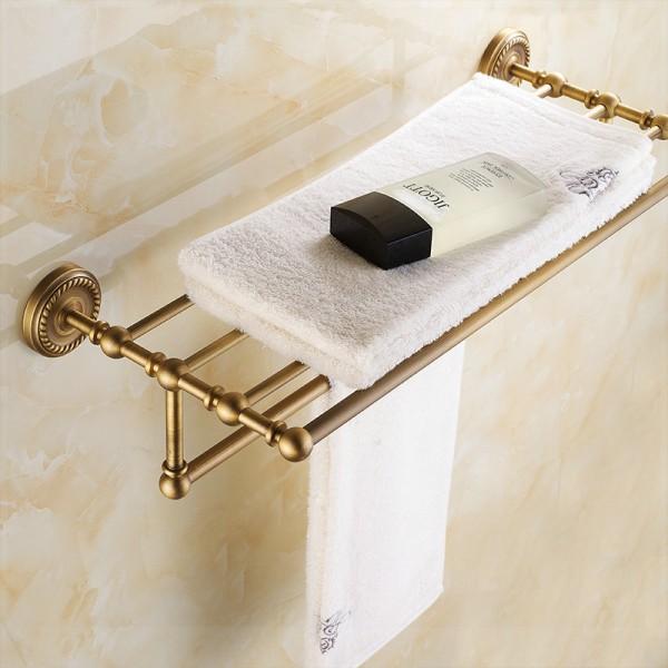 полок для полотенец в ванную комнату