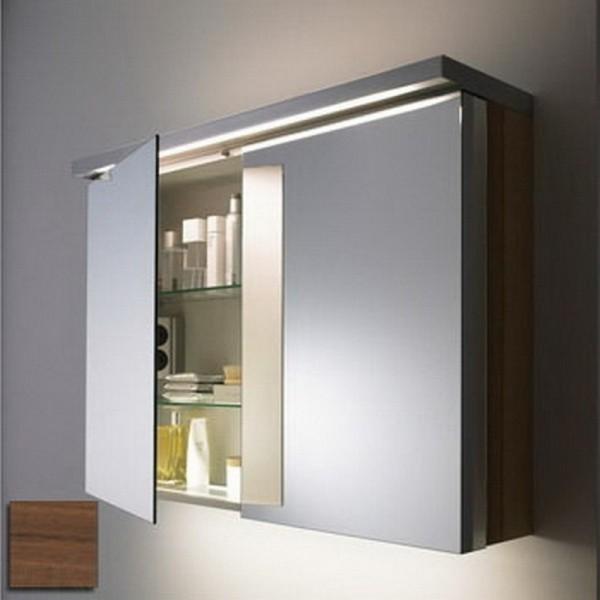 шкафчик с зеркалом в ванную комнату фото