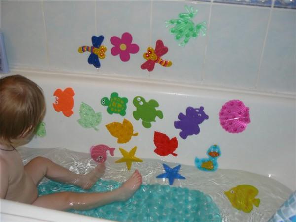 способ размещения ковриков в ванне