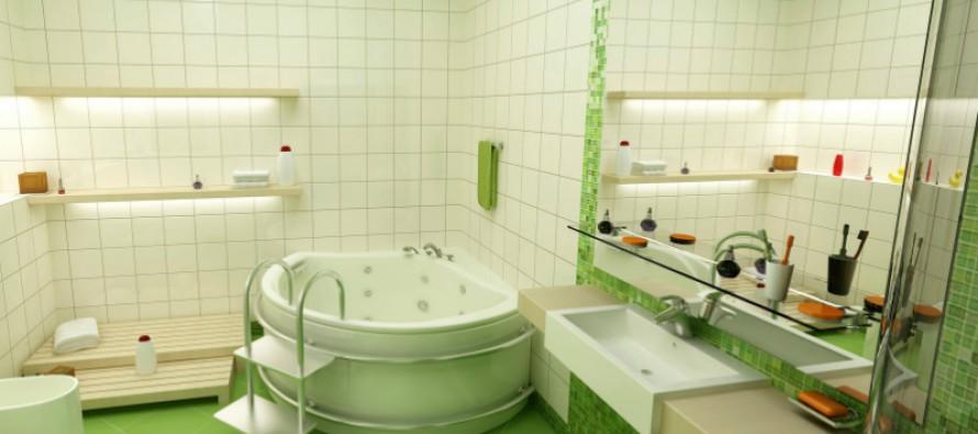стеклянные полки в ванную купить недорого
