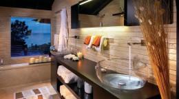 Стеклянная раковина для ванной комнаты: утонченное изящество интерьера