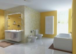 Подвесная тумба с раковиной для ванной комнаты — красивая маскировка и оригинальный функционал