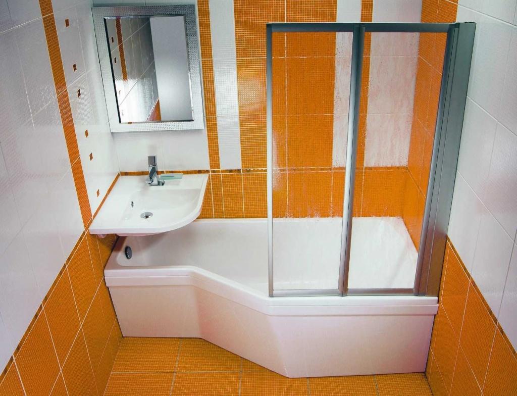 Угловая раковина в ванную комнату - оригинальный предмет интерьера, экономящий пространство