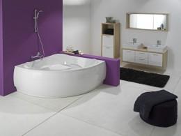 Угловая ванна — функциональное и эргономичное изделие для наслаждения