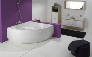 ванна угловая размеры цены и фотографии