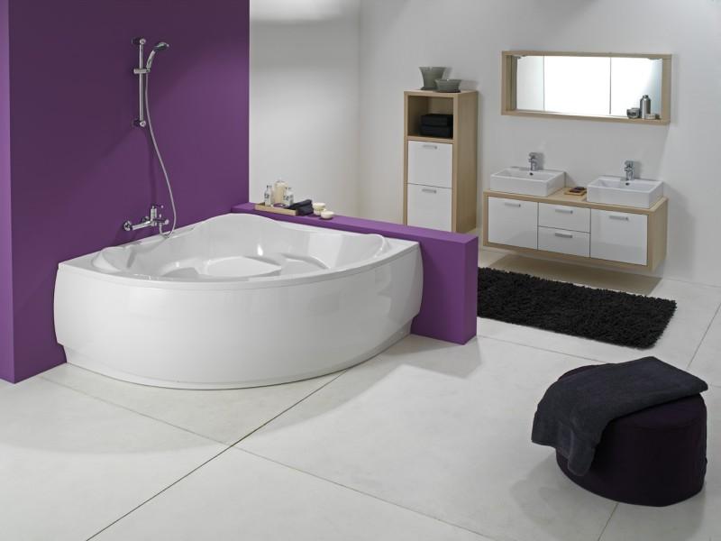 Угловая ванна - функциональное и эргономичное изделие для наслаждения