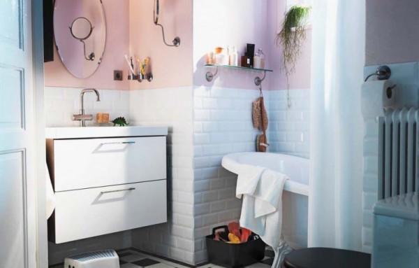 ванна в стиле икеа