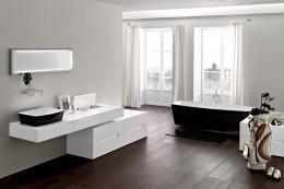 Ванна в ванную комнату — главный элемент всего интерьера помещения для мытья