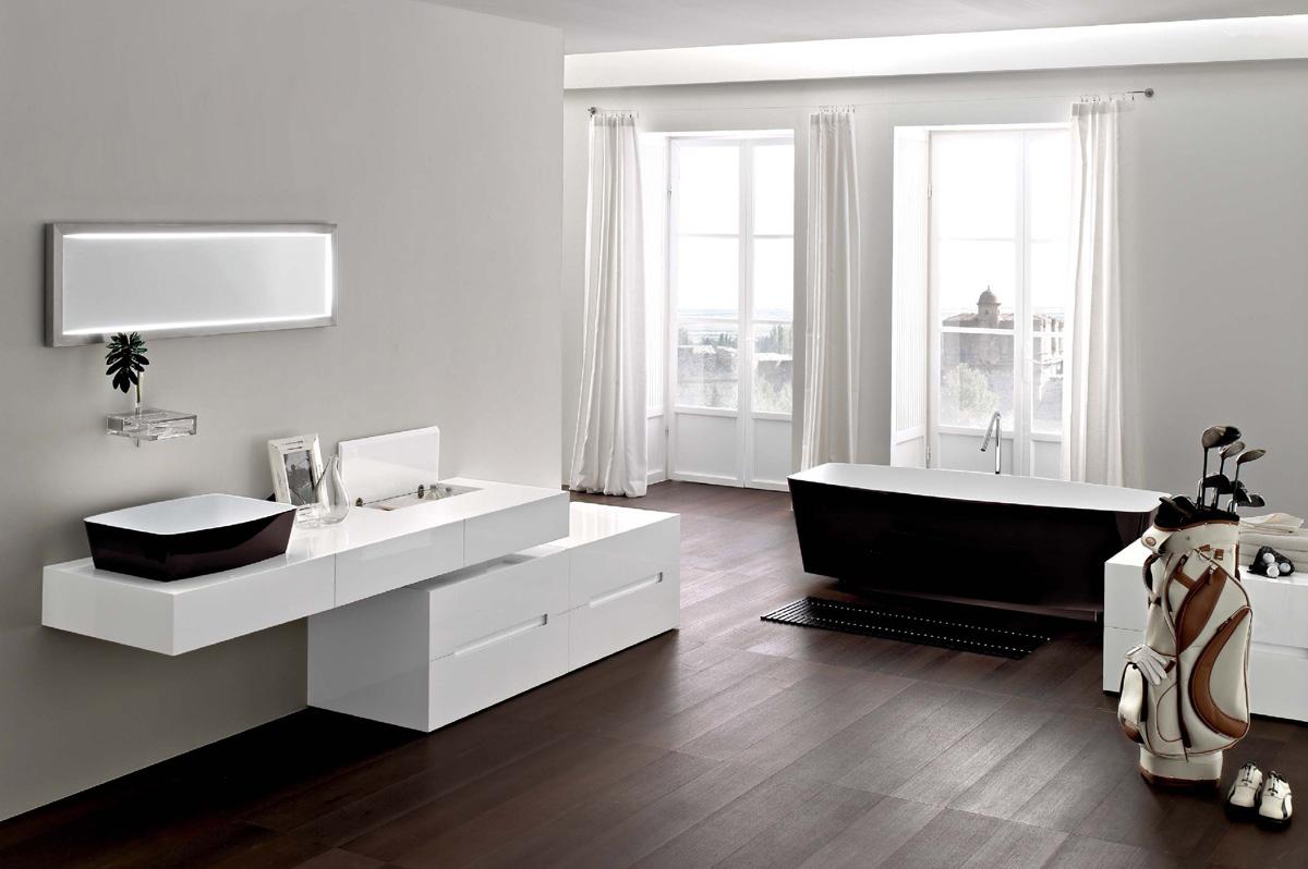 Ванна в ванную комнату - главный элемент всего интерьера помещения для мытья
