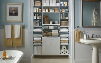 ванна и встроенный шкаф