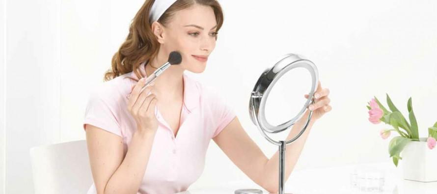 зеркало косметическое с подсветкой для ванны